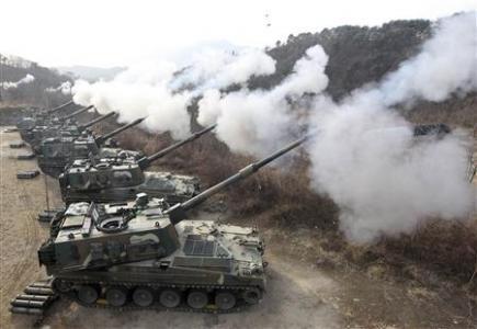 """Triều Tiên cảnh báo """"chiến tranh thần thánh"""" với Hàn Quốc"""