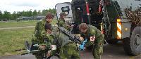 Mô hình huấn luyện Cấp cứu Quân sự